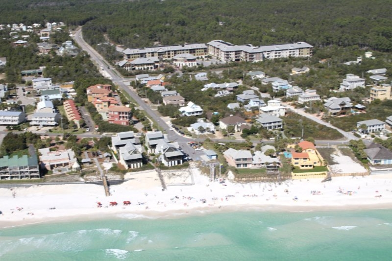 Gulf Front Lot in Blue Mountain Beach